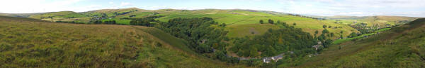 Panoramic View of Bacup Road Todmorden.